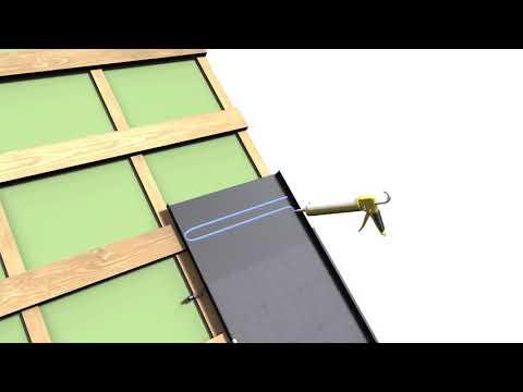 Roofit Solar Double Seam solar roof