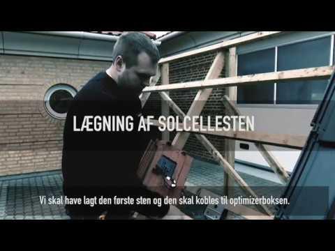 Sådan lægger du et ZEP Nordic solcelletag - Instruktionsvideo