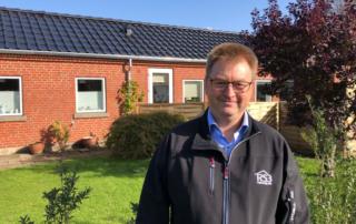 Solcelleteglsten på boligforening i Ringkøbing-Skjern